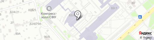 Инженер центр на карте Красноярска