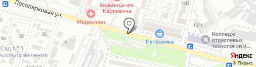 Ice Beer на карте Красноярска
