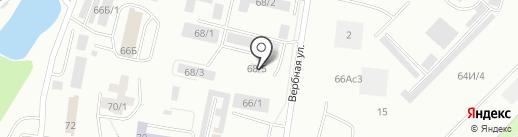 АБАТАК, АНО на карте Красноярска
