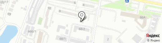 Муравейник КРАБ на карте Красноярска