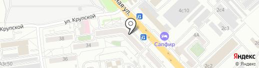 ЗВЕНИГОРОД на карте Красноярска