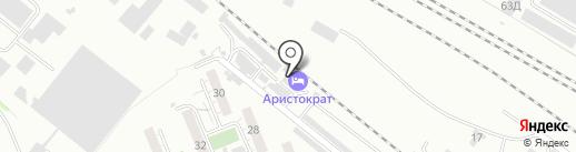 АвтоКомпас24 на карте Красноярска