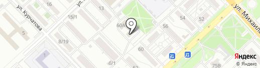 РадарТВ на карте Красноярска