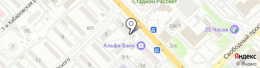Платежный терминал, Сбербанк, ПАО на карте Красноярска