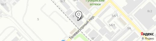 Экспресс-Авто на карте Красноярска