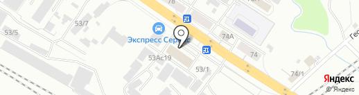 Грундфос на карте Красноярска