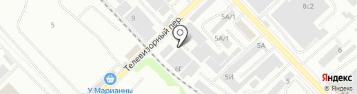 КладоФка на карте Красноярска