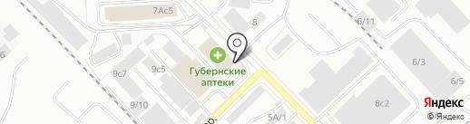 Ариал на карте Красноярска
