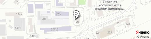 ЗОНТКАРД на карте Красноярска
