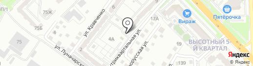 Анна на карте Красноярска