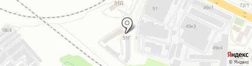 ТОРГКОМПЛЕКТ на карте Красноярска