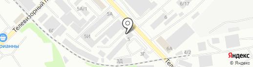 Теплица24 на карте Красноярска