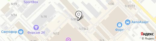 Обеды в офис на карте Красноярска