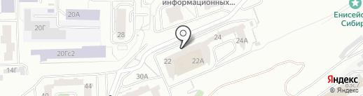 КАРУНА на карте Красноярска
