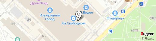 Tele2 на карте Красноярска