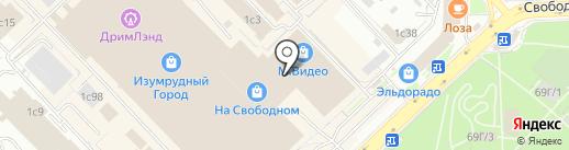 Boutique на карте Красноярска