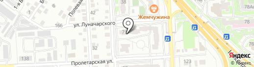 КИАН на карте Красноярска