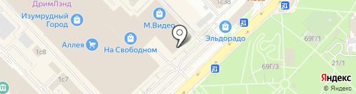 Цветные сны на карте Красноярска