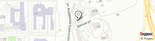 Управляющая компания Добрый Дом на карте Красноярска