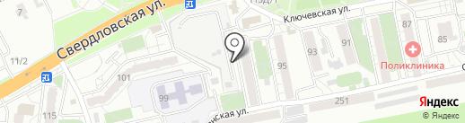 Магазин хозтоваров на карте Красноярска