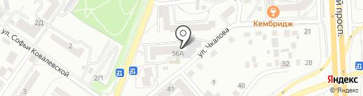 Мастеравто на карте Красноярска