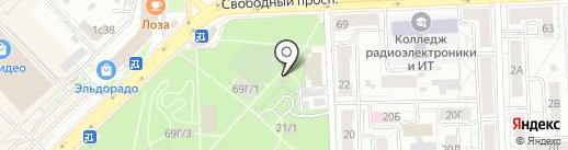 О, пончик! на карте Красноярска