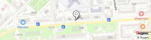 ПАРТНЕР на карте Красноярска
