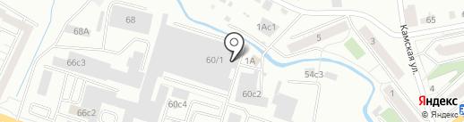 AutoBest на карте Красноярска