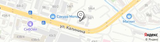 Люкс на карте Красноярска