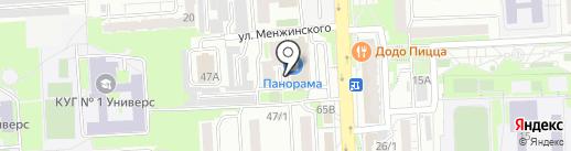 Quest House на карте Красноярска