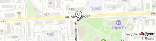 Хуторок на карте Красноярска