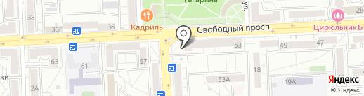 ПРОманикюр на карте Красноярска