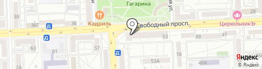 SibSmart на карте Красноярска