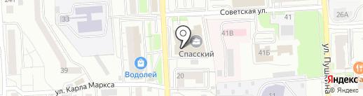 Торговый Дом Новые Технологии на карте Красноярска