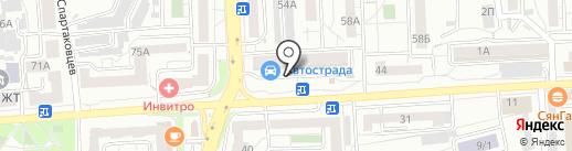 Мастерская по ремонту часов на карте Красноярска