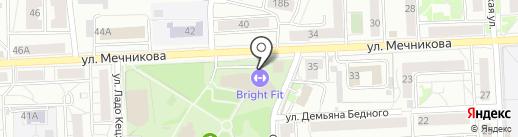 Школа фитнеса Варвары Медведевой на карте Красноярска