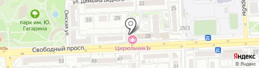 Академия женщин Ирины Чарской на карте Красноярска
