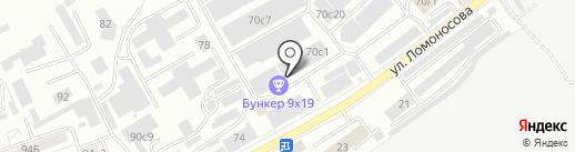 ТРАНССОЛЬ на карте Красноярска