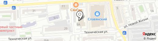 Ok Nails Studio на карте Красноярска
