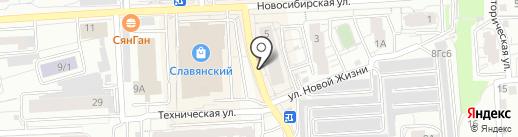 Euro Fashion kids на карте Красноярска