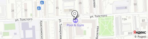 SAY YES на карте Красноярска