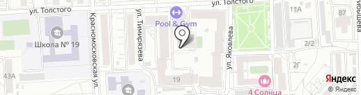 Хоббивиль на карте Красноярска