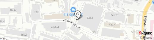prokat124.ru на карте Красноярска