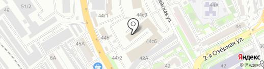 Лавандерия на карте Красноярска