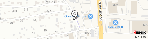 Столярная мастерская на карте Солонцов