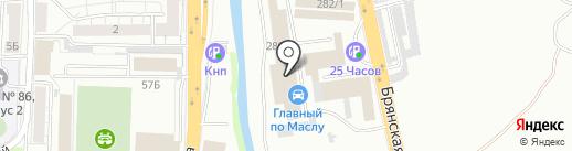 Автотехцентр замены масла на карте Красноярска