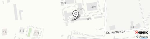 Аптечный пункт на карте Красноярска