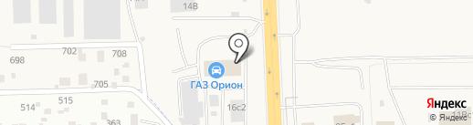 Орион-Моторс на карте Солонцов