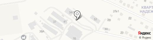 Фабрика идей на карте Солонцов