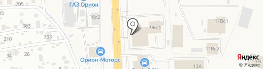 Центральный сервис на карте Солонцов